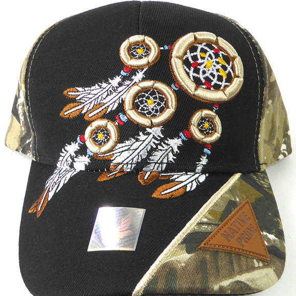 af8e72e42f6345 Native Pride Accessories | Black Camo Dream Catcher Cap | Poshmark